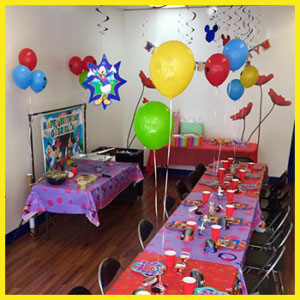 kids birthday party in Columbus, OH
